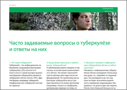 Feuille d'information FAQ Tuberculose russe